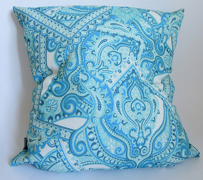 blue-scarf-collage-pattern-cushion-design-by-Paisley-Power
