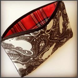 rat paisley pattern bag