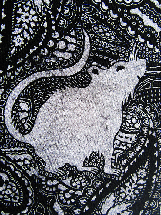 print effect on rat pattern