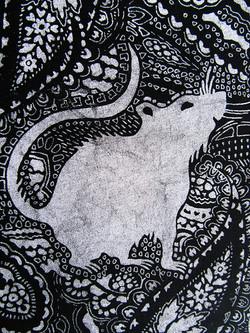 print effect on rat pattern