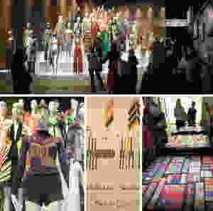 Italian fashion brand Missoni's exhibition in London