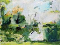 Driscols' Garden o/c 36x36