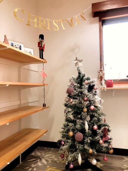 スタジオがクリスマス仕様に☆