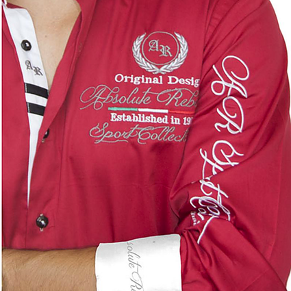 AR Embroidered Shirts - MONTE CHRISTO