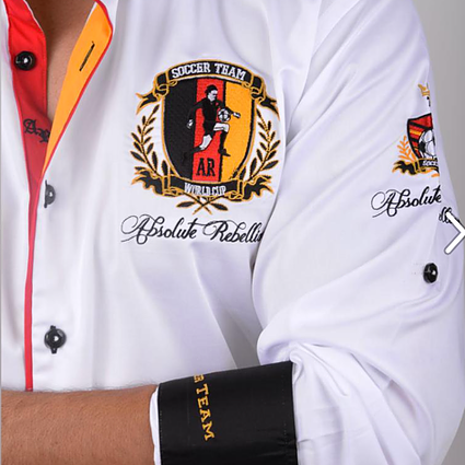 AR Embroidered Shirts - GERMANY