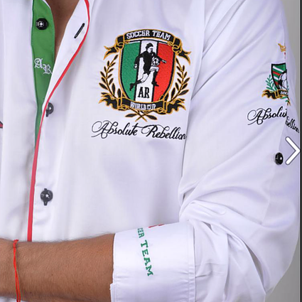 AR Embroidered Shirts - ITALY