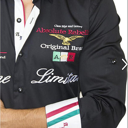 AR Embroidered Shirts - ADRIANO
