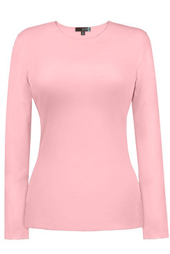 Judy P - JEWEL NECK LONG SLEEVE