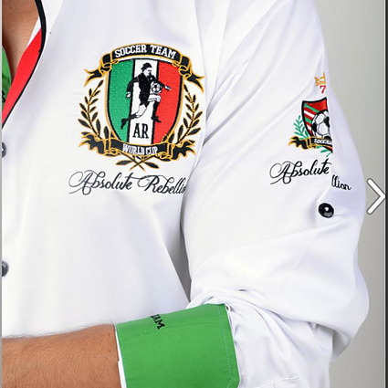 AR Embroidered Shirts - MEXICO