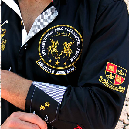 AR Embroidered Shirts - POLO UK
