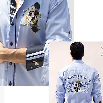 AR Embroidered Shirts - MUTINY