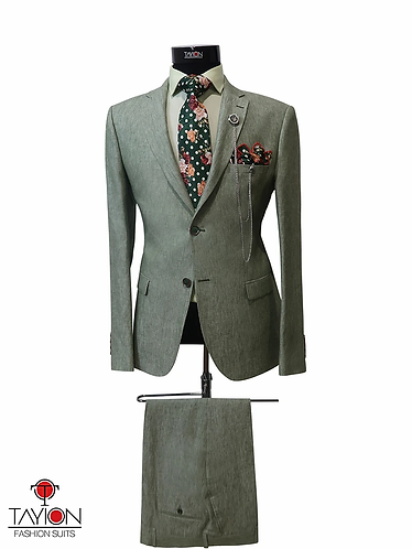 Tayion Collection Suits - ASPEN (Moss Green)