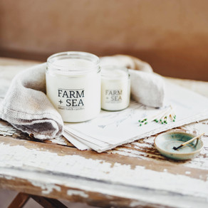 We've Got Our November Tenant Spotlight on Farm + Sea Candle Co.!