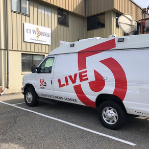 WCVB Channel 5 at CI Works (updated 11/19)