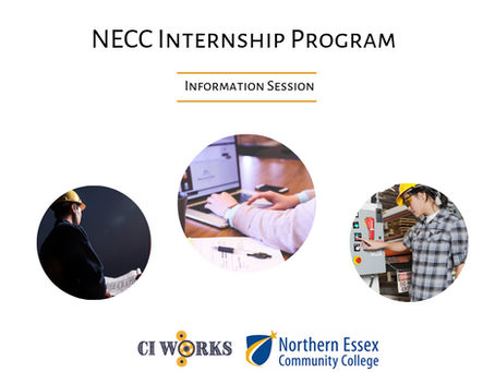 Internship Program Opportunity For CI Works Tenants