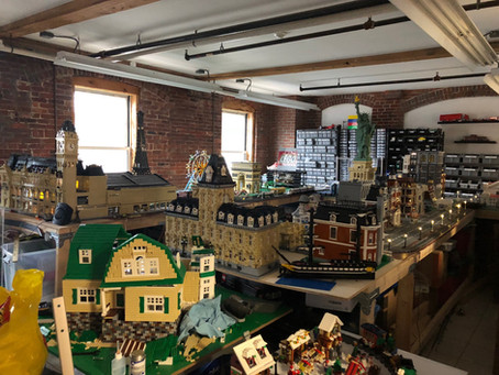 We've Got Our December Tenant Spotlight On CI Works Very Own Legoland Creator... Peter C.!