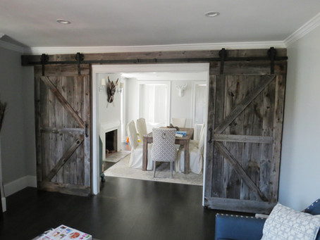 We've Got Our Spotlight on Northshore Barn Doors!