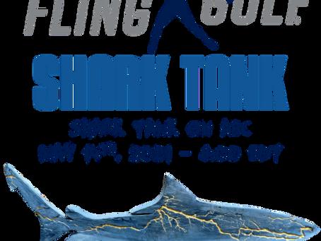 Fling Golfing on Shark Tank - tune in