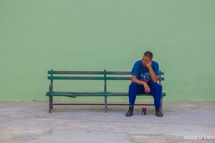 Contemplating in Havana