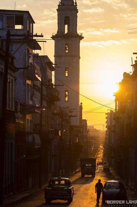 Sunrise over Havana