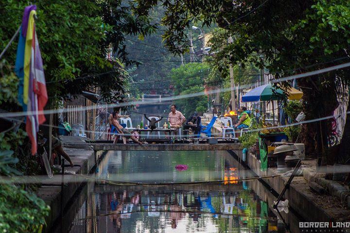 Picnic on a Bangkok Canal