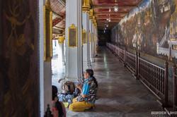 Praying at the Thai Palace