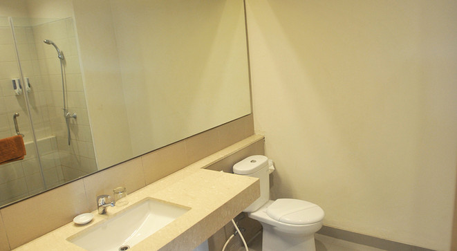 bathroom new family room laut biru pangandaran
