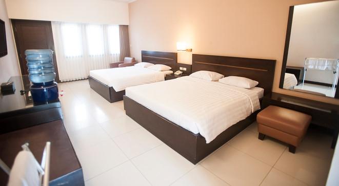 family room laut biru hotel pangandaran