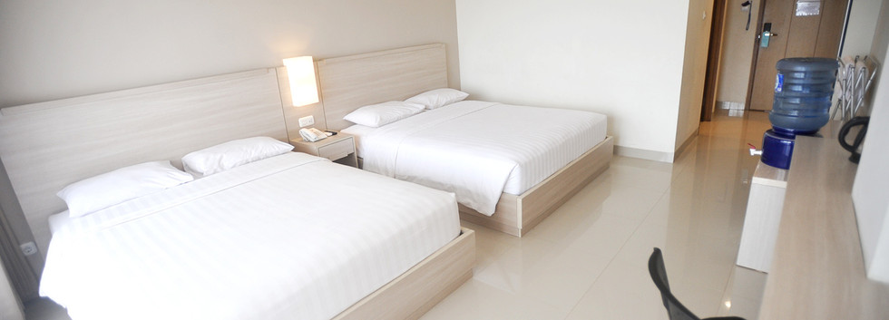 deluxe room laut biru hotel pangandaran