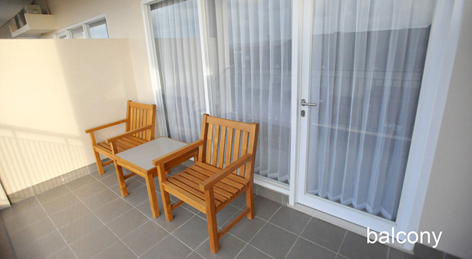 balcony new family room laut biru hotel pangandaran