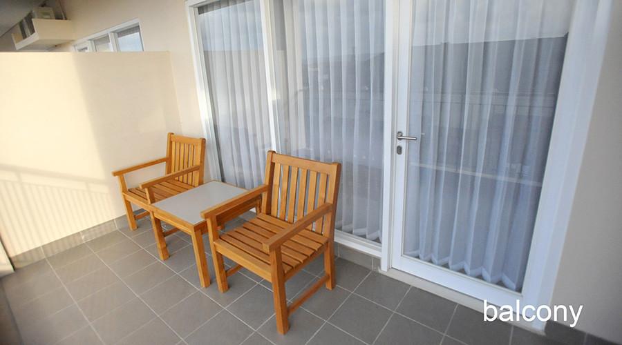 balcony deluxe room laut biru hotel pangandaran
