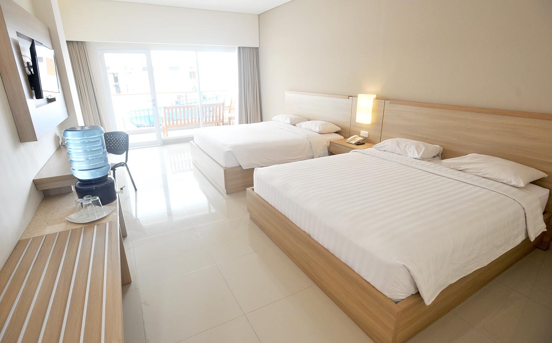new family room laut biru hotel pangandaran