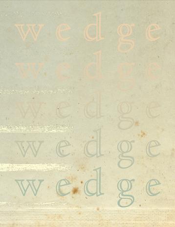 Wedge: 2020-2021