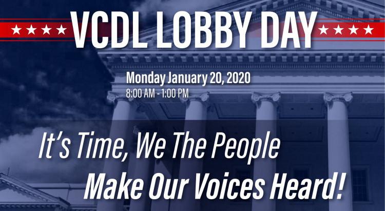 Richmond, VA Lobby Day 2020 clearing house