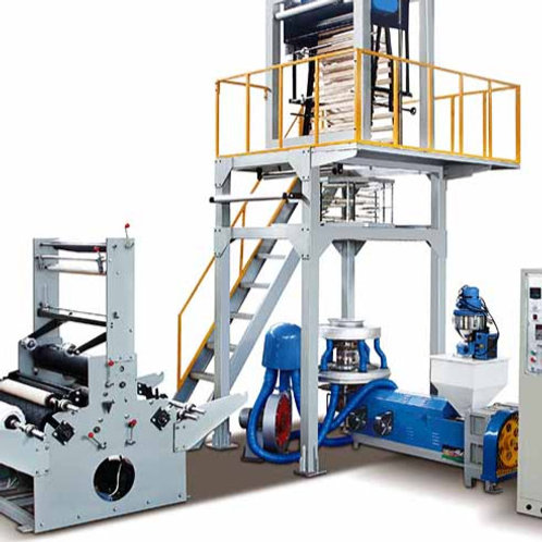 SJ-55/FM800 HD/LDPE Film Blowing Machine