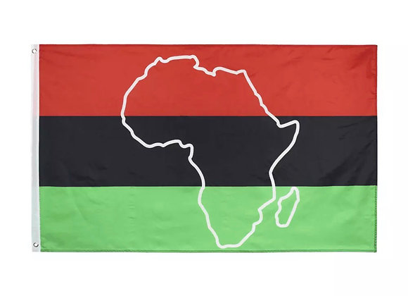 African Continent Pan African Flag