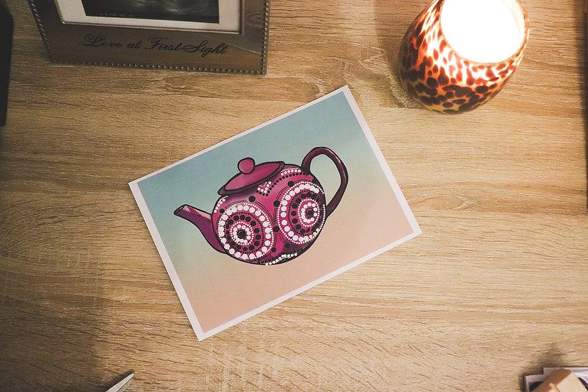 'Tidda Teapot' Print