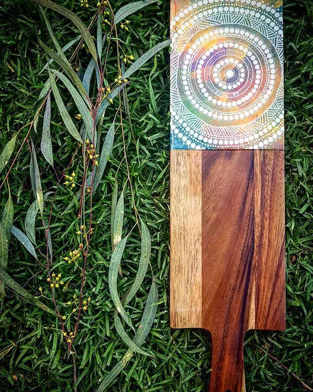 Rainbow- Dhangaang Serving Board