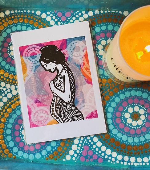 'Ngama' Print