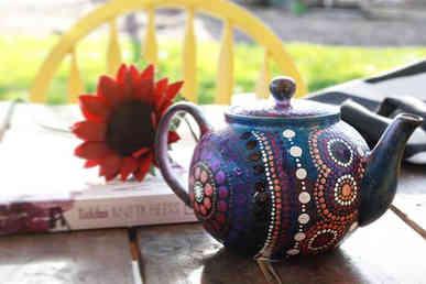 Budhu (Stars) Teapot