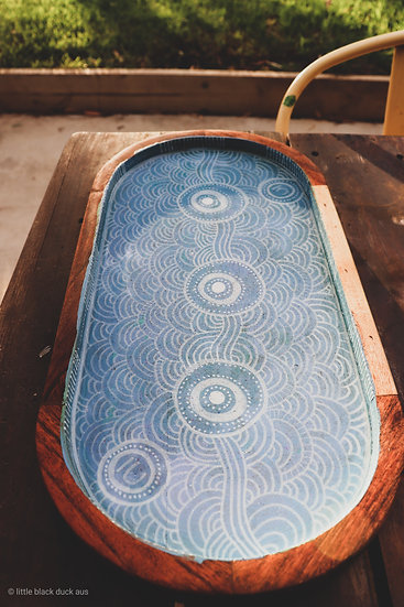 Dhangaang Oval Serving Board