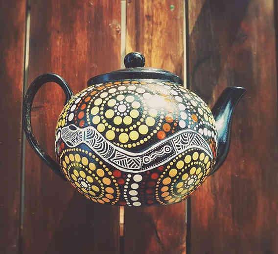 Gadi (Snake) Teapot