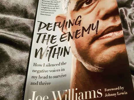 May's Book of the Month | Defying the Enemy Within | Joe Williams | plus reading questions