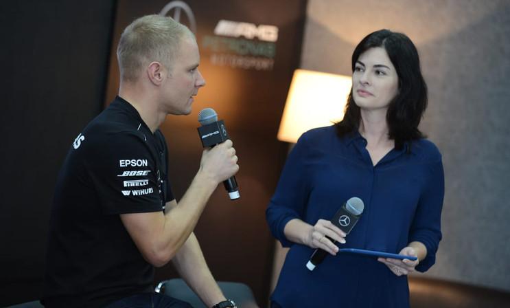 Interview Valtteri Bottas