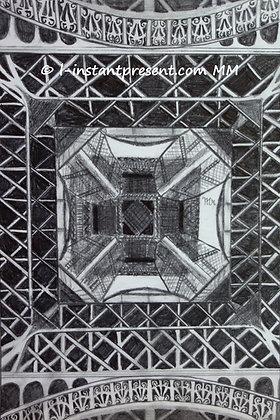 La Tour Eiffel vue d'en-bas