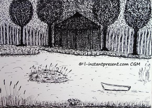 L'étang sacré