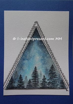 Dans la forêt bleue