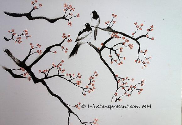 Oiseaux printaniers