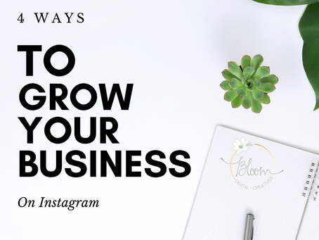 4 Ways to Grow Your Business on Instagram