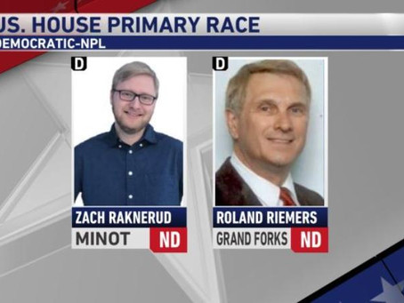 KFYR-TV Reports On Dem-NPL Primary Election